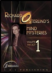 DVD Richard Osterlind Mind Mysteries Vol.1 (The Act)