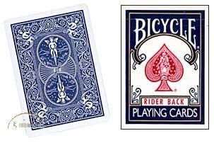 Bicycle Doppel-Rückseite / Double Back (blau/blau)