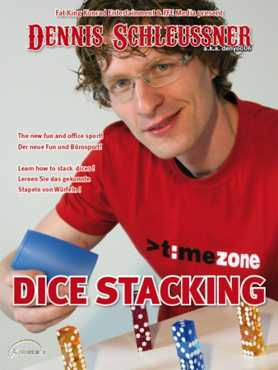 DVD Dice Stacking von Dennis Schleussner
