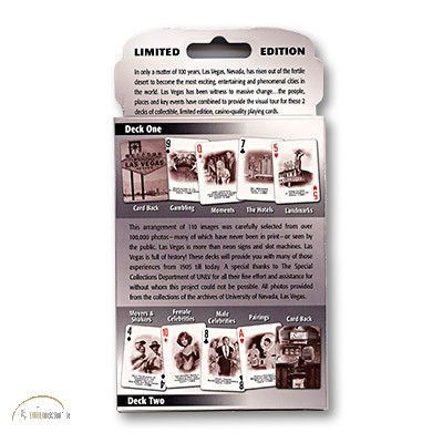 Cards Las Vegas History - 2 PACK (Limited Edition)