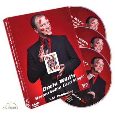 DVD Remarkable Card Magic (3 DVD Set) by Boris Wild