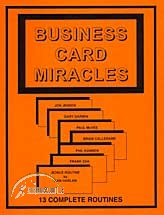 Business Card Miracles (Book)