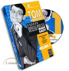 3 DVD Set Expert Impromptu Magic Made Easy by Tom Mullica