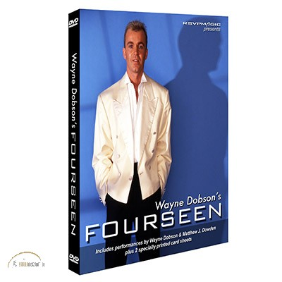 Fourseen by Wayne Dobson (With 2 Sheets and DVD)