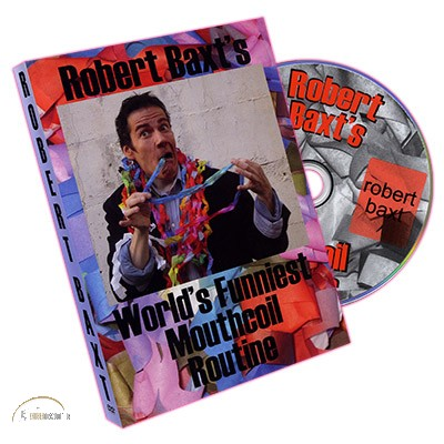 DVD World's Funniest Mouthcoil Routine by Robert Baxt