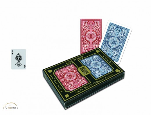 KEM Narrow Standard Index (2 Decks - red & blue)