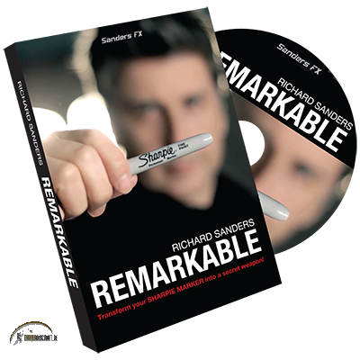 Remarkable (DVD and Gimmick) by Richard Sanders