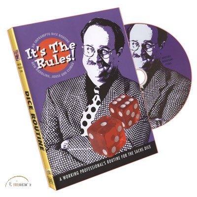 DVD It's The Rules (DICE ROUTINE) by Bob Sheets