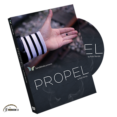 Propel (DVD and Gimmick) by Rizki Nanda and SansMinds