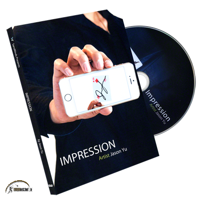 Impression by Jason Yu and SansMinds (DVD and Gimmick)