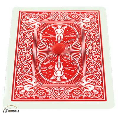 Card on Ceiling Wax 50g (red) by David Bonsall