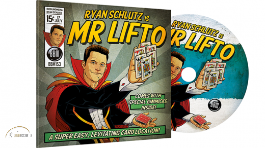 MR LIFTO (DVD and Blue Gimmicks) by Ryan Schlutz and BBM