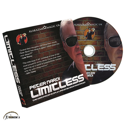 Limitless (Queen of Hearts) DVD and Gimmicks by Peter Nardi