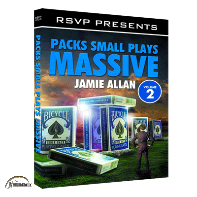 Packs Small Plays Massive Vol. 2 by Jamie Allen and RSVP Magic