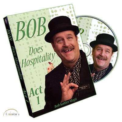Bob Does Hospitality - DVD Set Act 1-3 by Bob Sheets