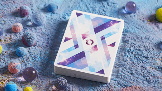 Rhombus Space Playing Cards