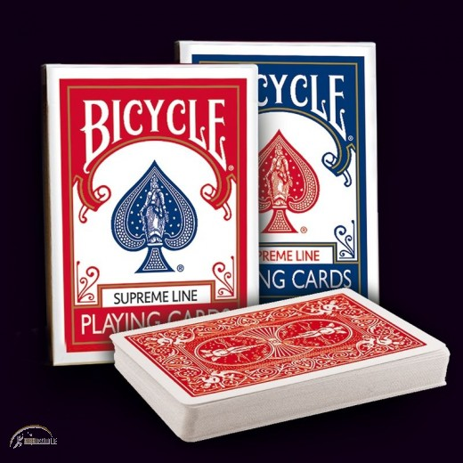 Bicycle Supreme Line Playing Cards (red)