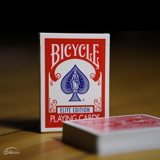 Bicycle Elite Edition Playing Cards (red)