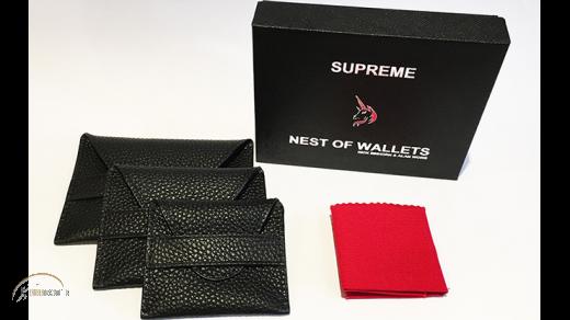 Supreme Nest of Wallets (AKA Nest of Wallets V2) by Nick Einhorn