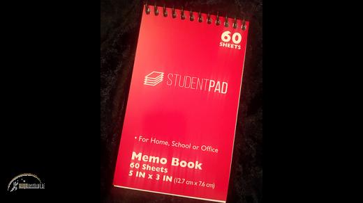 SvenPad® KoD Memo Pad Red, Single