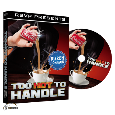 Too Hot to Handle (DVD and Gimmick) by Keiron Johnson