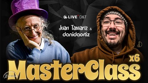 Juan Tamariz MASTER CLASS Vol.1-3 Set