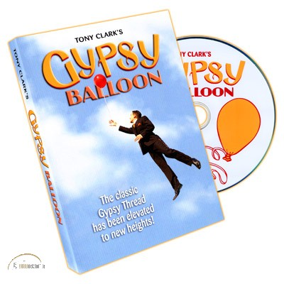 DVD Gypsy Balloon by Tony Clark