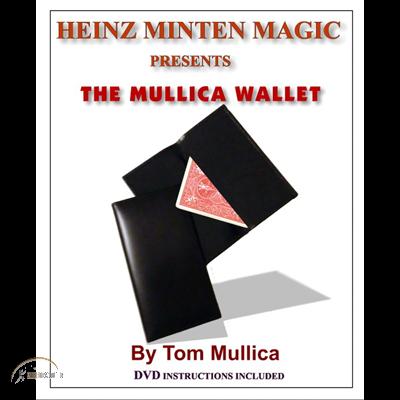 Mullica Wallet (with DVD) by Heinz Minten & Tom Mullica