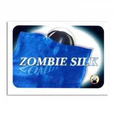 Zombie Silk by Vincenzo Di Fatta blue (Zombie-Tuch in blau)