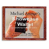 Showcase Wallet (Leather) by Michael Ammar
