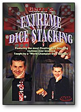 DVD Extreme Dice Stacking with Gerry