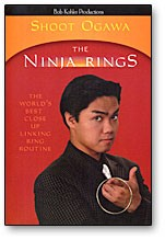 DVD The Ninja Rings with Shoot Ogawa