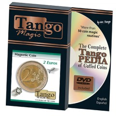 Magnetic 2 Euro by Tango Magic/ 2 Euro-Stück (magnetisch)
