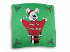 Merry Xmas 24 Silk/ Weihnachtstuch ca. 60 cm