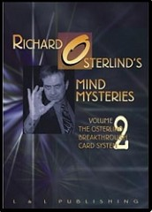 DVD Richard Osterlind Mind Mysteries Vol.2 (The Osterlind Breakt