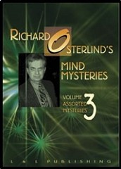 DVD Richard Osterlind Mind Mysteries Vol.3 (Assorted Mysteries)