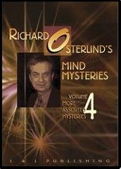 DVD Richard Osterlind Mind Mysteries Too Vol.4 (More Assorted My