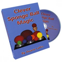 DVD Clever Sponge Ball Magic by Duane Laflin