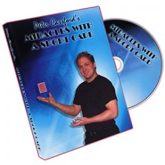DVD Miracles with a Short Card by Peter Cassford