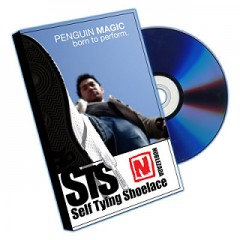 Self Tying Shoelace (DVD and Props) by Jay Noblezada