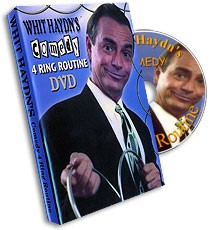 DVD Comedy 4 Ring Linking Ring Routine by Whit Haydn