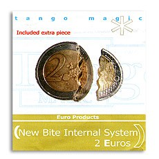 Bite Coin 2 Euro by Tango Magic (mit extra Stück/ internal)