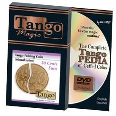 Folding Coin 50 Cent Euro (Internal System) by Tango