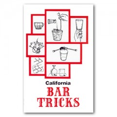 California Bar Tricks by Jim Rosenbaum (Book)