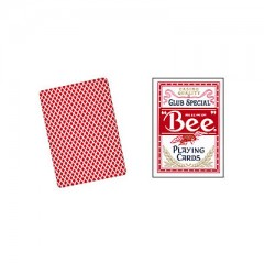 Bee Playing Cards Poker Size (rot)