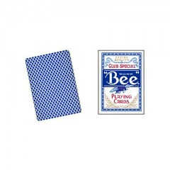 Bee Playing Cards Poker Size (blau)