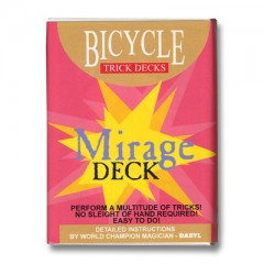 Bicycle Mirage Deck (rot)