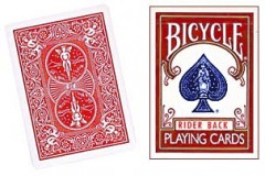 Bicycle Forcierspiel / One Way Forcing Deck (rot)