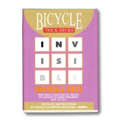 Bicycle Invisible Deck (rot)