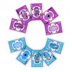 Bicycle Cards (Clear teal)/ Bicycle Karten (klar aquamarin)